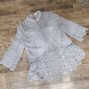 Chicwish Crochet top